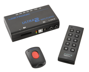 ULTRA 2 MP3 player with RF remote control