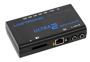 ULTRA 2 MP3 player with LAN