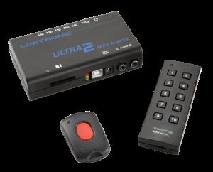 ULTRA 2 MP3-Player mit Funk-Fernbedienungen