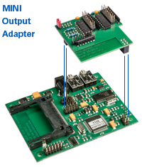 MINI MP3-Modul mit Output Adapter